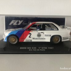 Slot Cars: BMW M3 E30 1 DTM 1987 REF 88212 FLY. Lote 218530671
