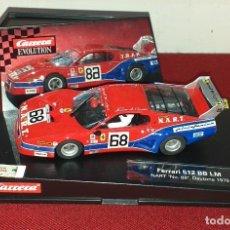 Slot Cars: FERRARI 512 BB LM NART Nº 68 DAYTONA 1979. Lote 218610628