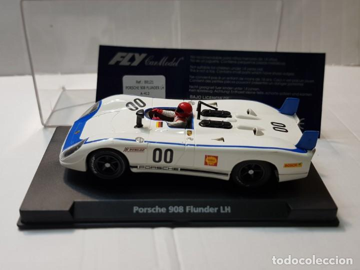 COCHE SLOT FLY PORSCHE 908 FLUNDER LH SHELL EN BLISTER ORIGINAL MADE IN SPAIN (Juguetes - Slot Cars - Fly)