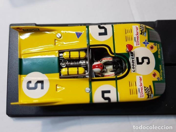 Slot Cars: Coche Slot Fly Porsche 908/3 24h Le Mans Goodyear 1972 en blister original made IN Spain - Foto 3 - 219336600