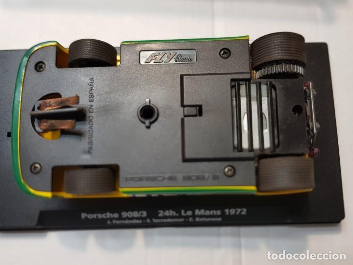 Slot Cars: Coche Slot Fly Porsche 908/3 24h Le Mans Goodyear 1972 en blister original made IN Spain - Foto 4 - 219336600