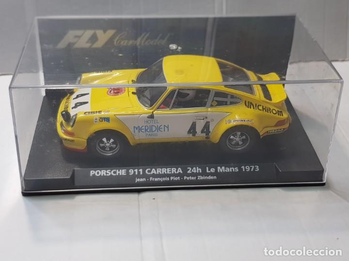 COCHE SLOT FLY PORSCHE 911 CARRERA -24H.LE MANS 1973 EN BLISTER MADE IN SPAIN (Juguetes - Slot Cars - Fly)