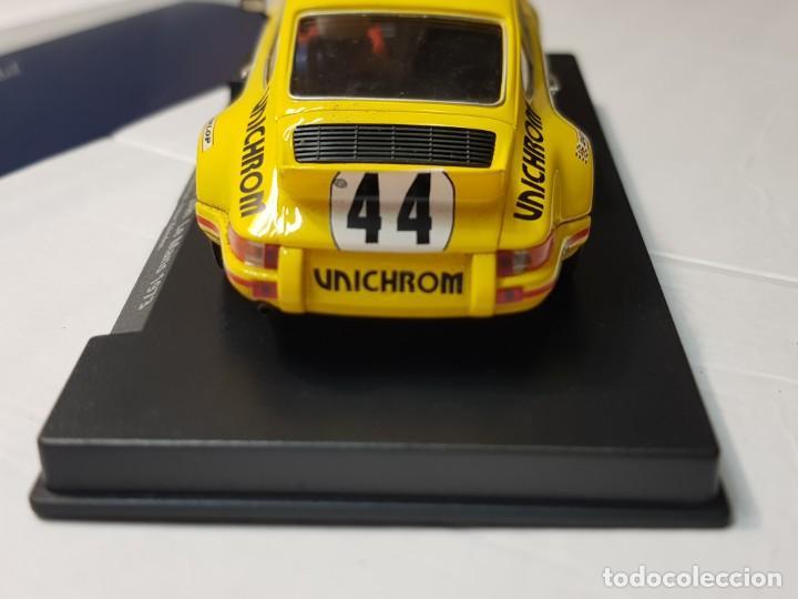 Slot Cars: Coche Slot Fly Porsche 911 Carrera -24h.Le Mans 1973 en blister made IN Spain - Foto 6 - 219518138