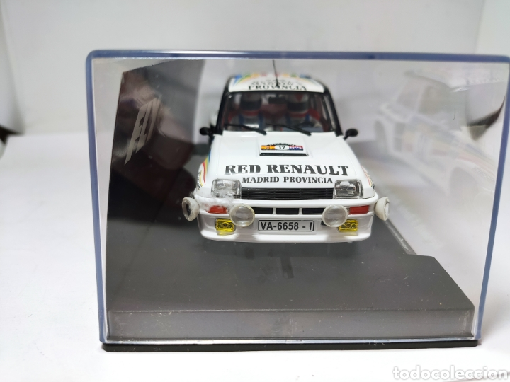 Slot Cars: FLY RENAULT 5 TURBO RALLY RACE COSTA BLANCA 1984 SAINZ BOTO REF. 88169 - Foto 2 - 219743832