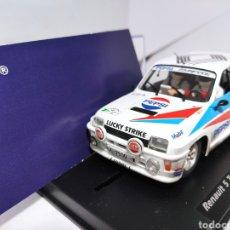 Slot Cars: FLY RENAULT 5 TURBO RALLY EL CORTE INGLES 1986 EFECTO SUCIO PEPSI. Lote 220080203