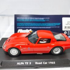 Slot Cars: FLY ALFA TZ2 ROAD CAR 1965 FLYSLOT REF. 057303. Lote 220080712