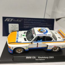 Slot Cars: FLY BMW CSL KNUTSTORP 2003 RUNE TOBIASSON REF. 88177. Lote 220081123