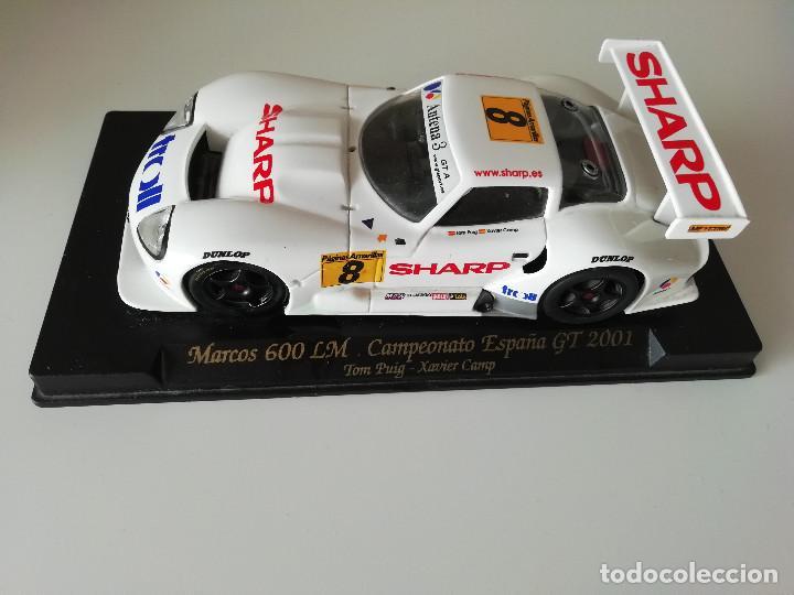 MARCOS LM 600 CAMPEONATO DE ESPAÑA GT 2001 - EDICIÓN LIMITADA (Juguetes - Slot Cars - Fly)