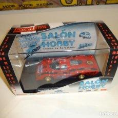 Slot Cars: FLY. FERRARI 512 CODA LUNGA. VIII SALON DEL HOBBY. REF. 08022. Lote 220676953