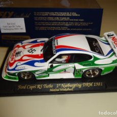Slot Cars: SCALEXTRIC. FORD CAPRI RS TURBO. REF. A142. Lote 221530187