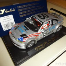 Slot Cars: SCALEXTRIC. BMW M3 GTR. REF. 88009. Lote 221532188