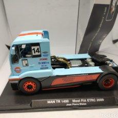 Slot Cars: FLYSLOT MAN TR 1400 TRUCK MOST FIA ETRC 2009 REF. 203103 FLY. Lote 221784945