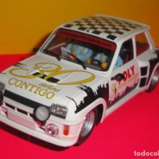 Slot Cars: RENAULT 5 TURBO POLY 30 ANIVERSARIO. FLY. Lote 222073492