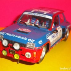 Slot Cars: RENAULT 5 TURBO PHILIPS. BRUNO SABY. FLY. Lote 222074303