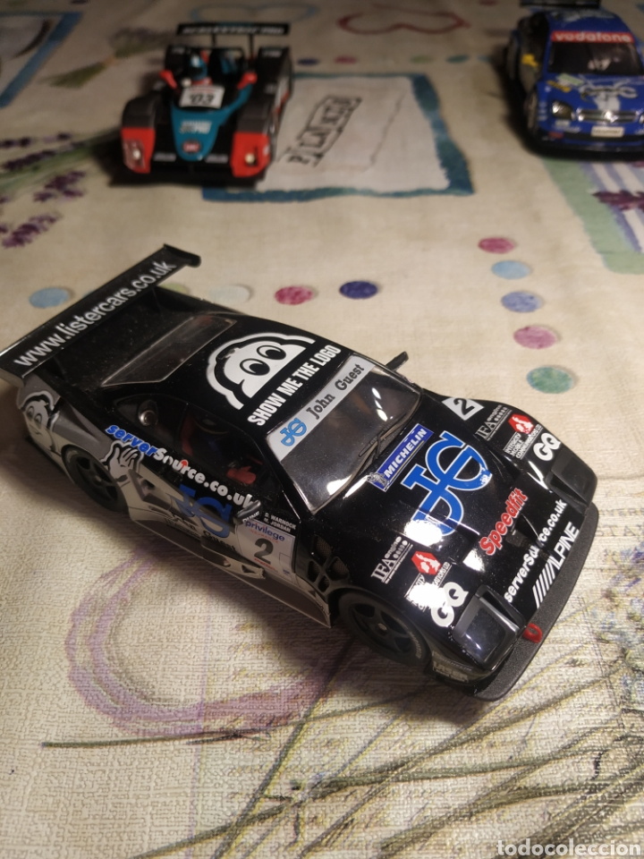 Slot Cars: Scalextric fly mister storm - Foto 3 - 222179036