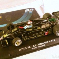 Slot Cars: FLYSLOT. LOTUS 78 GP MONACO 1978 MARIO ANDRETTI. Lote 222190198