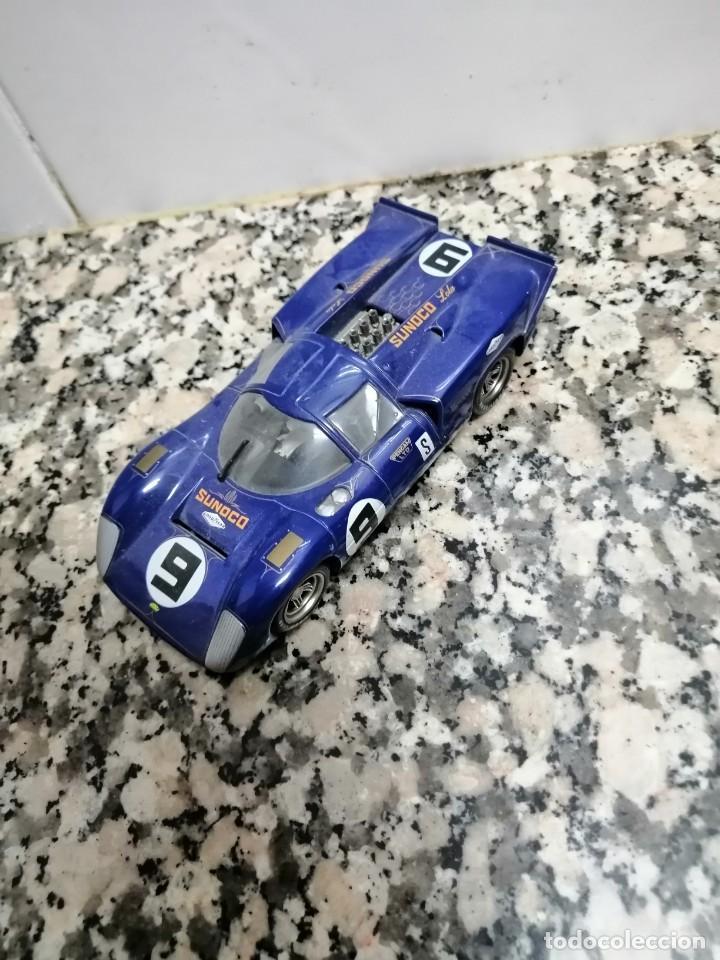 Slot Cars: COCHE FLY CLASSIC LOLA T70 MK 3B COLOR NARANJA - NUEVO - N22 - Foto 2 - 222346422