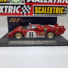 Slot Cars: FERRARI 512 S CODA LUNGA 24H LE MANS 1970 NUEVO A ESTRENAR!. Lote 222403793