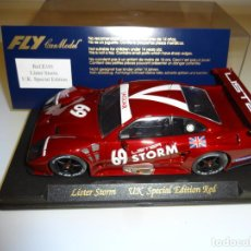 Slot Cars: FLY. LISTER STORM UK SPECIAL EDITION . REF. E101. Lote 222444980