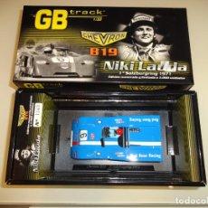 Slot Cars: FLY. FLY. CHEVRON B19. 1º SALZBURGRING 1971. NIKI LAUDA. REF. GB14. Lote 222445226