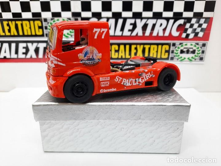 CAMION MERCEDES FLY GB TRACK SCALEXTRIC CERVEZA ST PAULI GIRL #77 (Juguetes - Slot Cars - Fly)