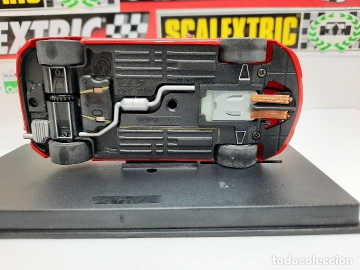 Slot Cars: ALFA ROMEO 147 GTA FLY ( Edición Especial Madridiario) SALON AUTOMOVIL MADRID 2004 SCALEXTRIC NUEVO! - Foto 8 - 222817490