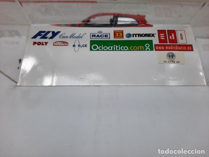 Slot Cars: ALFA ROMEO 147 GTA FLY ( Edición Especial Madridiario) SALON AUTOMOVIL MADRID 2004 SCALEXTRIC NUEVO! - Foto 10 - 222817490