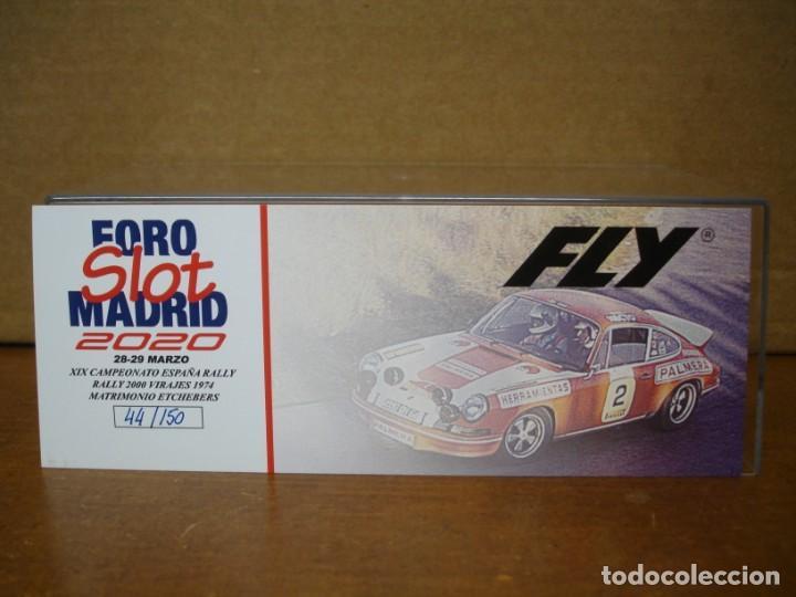 Slot Cars: FLY PORSCHE 911 FOROSLOT MADRID 2020 NUEVO CON SU CAJA ORIGINAL - Foto 5 - 222962211