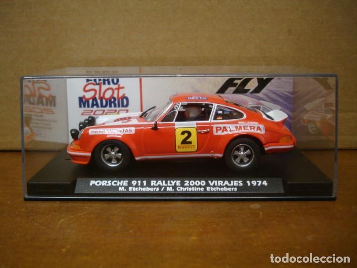 Slot Cars: FLY PORSCHE 911 FOROSLOT MADRID 2020 NUEVO CON SU CAJA ORIGINAL - Foto 6 - 222962211