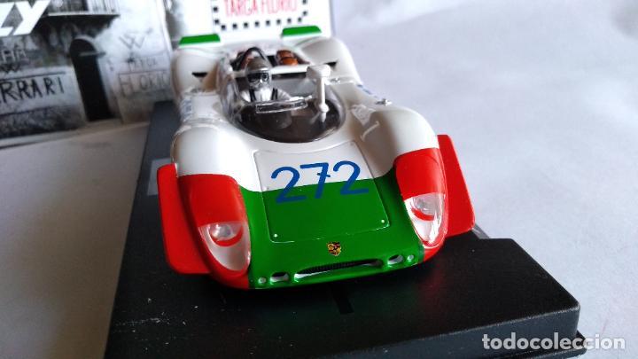 Slot Cars: NOVEDAD FLY SLOT PORSCHE 908/02 TARGA FLORIO 69, W. KAUHSEN/K. VON WEND REF. E2026,VÁLIDO SCALEXTRIC - Foto 2 - 223006486