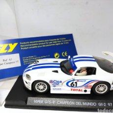 Slot Cars: FLY VIPER GTS-R CAMPEÓN MUNDO GT2 97 REF. A5. Lote 223089061