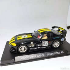 Slot Cars: FLY DODGE VIPER GTS-R SILVERSTONE 98. Lote 223089270