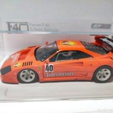Slot Cars: FLY FERRARI F40 RACING JAGERMEISTER HOBBYCLASSIC MOTOR SCX. Lote 223238283