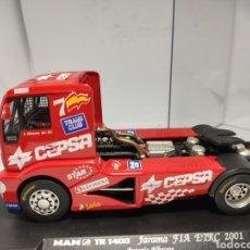 Slot Cars: FLY MAN TR 1400 JARAMA FIA ETRC 2001 ANTONIO ALBACETE. Lote 223621988