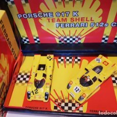 Slot Cars: EDICION ESPECIAL FLY PORSCHE 917 SHELL REF.-96065. Lote 224051397
