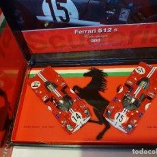 Slot Cars: EDICION ESPECIAL FLY FERRARI 512 REF.-TEAM02. Lote 224051802