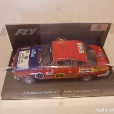 Slot Cars: ALFA ROMEO GIULIA GTV FLY REF.-88127. Lote 224053676