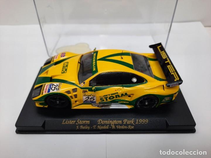 """Slot Cars: LISTER STORM """" Donington Park 1999 """" FLY #25 SCALEXTRIC - Foto 2 - 224662813"""