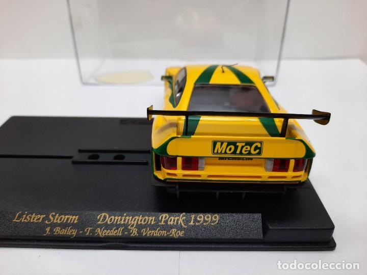 """Slot Cars: LISTER STORM """" Donington Park 1999 """" FLY #25 SCALEXTRIC - Foto 3 - 224662813"""
