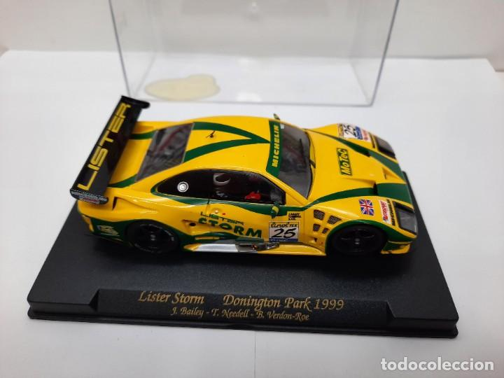 """Slot Cars: LISTER STORM """" Donington Park 1999 """" FLY #25 SCALEXTRIC - Foto 4 - 224662813"""