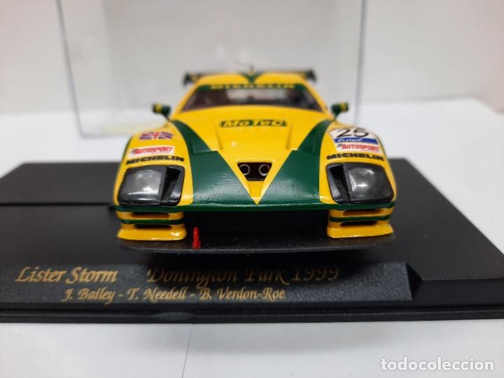 """Slot Cars: LISTER STORM """" Donington Park 1999 """" FLY #25 SCALEXTRIC - Foto 6 - 224662813"""