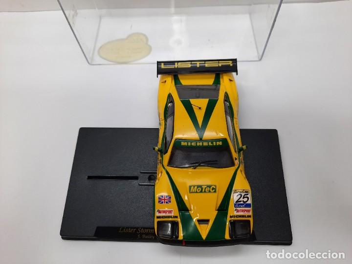 """Slot Cars: LISTER STORM """" Donington Park 1999 """" FLY #25 SCALEXTRIC - Foto 7 - 224662813"""