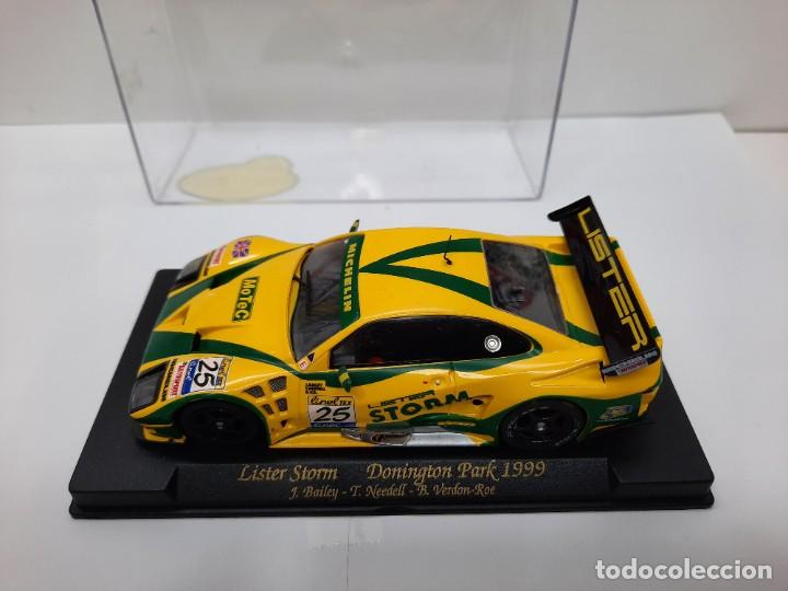 """Slot Cars: LISTER STORM """" Donington Park 1999 """" FLY #25 SCALEXTRIC - Foto 8 - 224662813"""