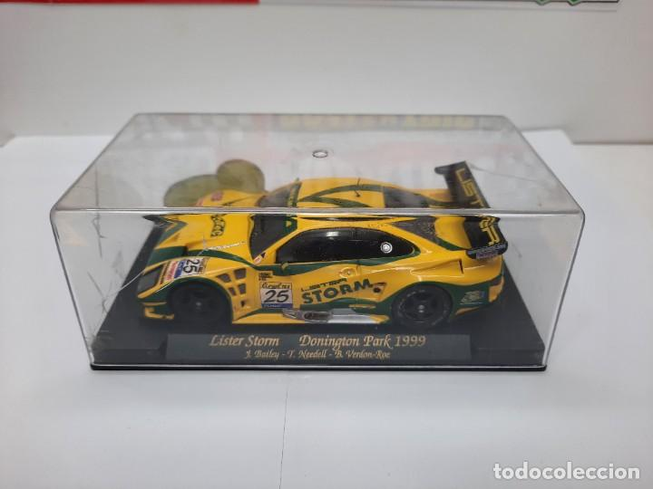 """Slot Cars: LISTER STORM """" Donington Park 1999 """" FLY #25 SCALEXTRIC - Foto 9 - 224662813"""