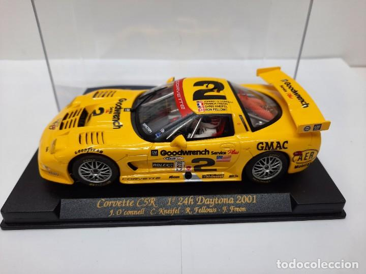 "Slot Cars: CORVETTE C5R 1° 24h Daytona 2001"" REF A123 "" FLY #2 SCALEXTRIC - Foto 2 - 224675961"