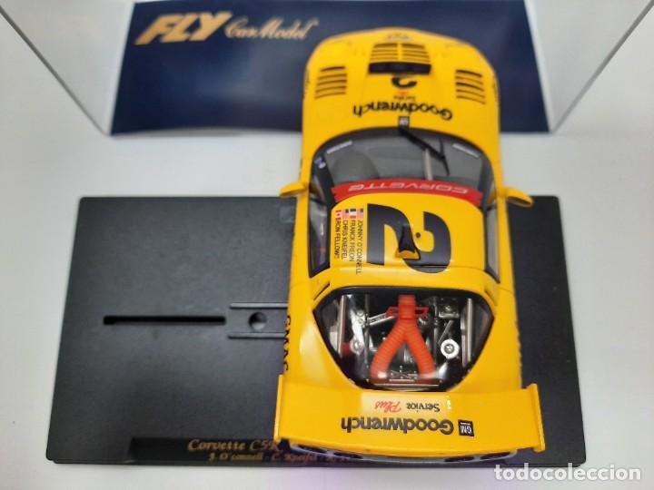 "Slot Cars: CORVETTE C5R 1° 24h Daytona 2001"" REF A123 "" FLY #2 SCALEXTRIC - Foto 4 - 224675961"