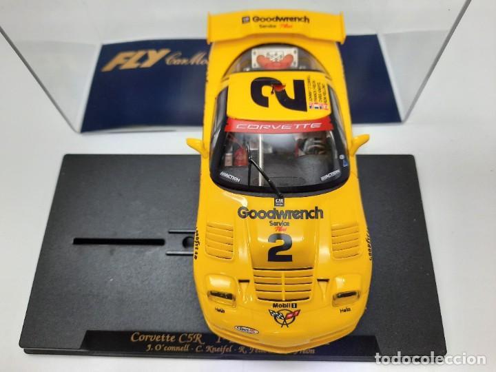"Slot Cars: CORVETTE C5R 1° 24h Daytona 2001"" REF A123 "" FLY #2 SCALEXTRIC - Foto 7 - 224675961"