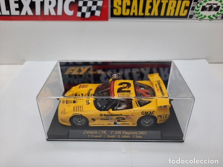 "Slot Cars: CORVETTE C5R 1° 24h Daytona 2001"" REF A123 "" FLY #2 SCALEXTRIC - Foto 12 - 224675961"
