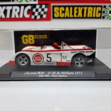 "Slot Cars: CHEVRON B-19 1° 3H DE WELKOM 1971 "" REF GB 12 "" FLY #5 SCALEXTRIC. Lote 224677503"