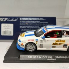 Slot Cars: FLY ALFA 147 GTA CUP LUIS VILLAMIL REF. 88082. Lote 225025375